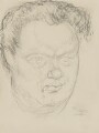 Dylan Thomas, by Mervyn Levy - NPG 4335