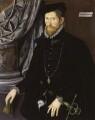 Sir Nicholas Throckmorton, by Unknown Anglo-Netherlandish artist - NPG 3800