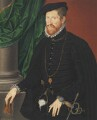 Sir Nicholas Throckmorton, by George Perfect Harding, after  Unknown Anglo-Netherlandish artist - NPG 1492(a)