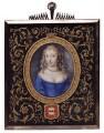 Frances Talbot (née Jenyns (Jennings)), Duchess of Tyrconnel (formerly Lady Hamilton), by Samuel Cooper - NPG 5095