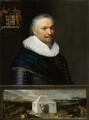 Horace Vere, Baron Vere of Tilbury, by Michiel Jansz. van Miereveldt - NPG 818