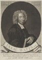Isaac Watts, by George White, sold by  Edward Dilly, and sold by  Charles Dilly - NPG 640