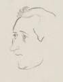 Sir Arnold Wesker, by Sir David Low - NPG 4529(386)