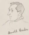 Sir Arnold Wesker, by Sir David Low - NPG 4529(388)