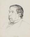 Charles Whibley, by Powys Evans - NPG 4395