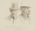 James Abbott McNeill Whistler, by Sir Robert Ponsonby Staples, Bt - NPG 2188