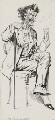James Abbott McNeill Whistler, by Harry Furniss - NPG 3617