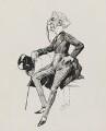 Sir Charles Wyndham (Charles Culverwell), by Harry Furniss - NPG 3535