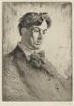W.B. Yeats, by Augustus Edwin John - NPG 3061