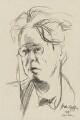 W.B. Yeats, by Ivan Opffer - NPG 3965