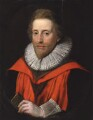 Richard Zouche, attributed to Cornelius Johnson - NPG 5056