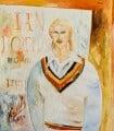 Ian Botham, by John Bellany - NPG 5835