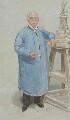Sir Thomas Brock, by Sir Leslie Ward - NPG 5393