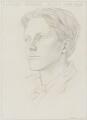 Rupert Brooke, by Gwendolen ('Gwen') Raverat (née Darwin) - NPG 5817
