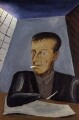 Edward Burra, by John Banting - NPG 5826