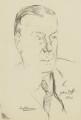 John Cadman, 1st Baron Cadman, by Ivan Opffer - NPG 5438