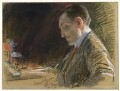 Edward Henry Carson, 1st Baron Carson, by Sir Robert Ponsonby Staples, Bt - NPG 5476