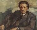 Sir Ernst Chain, by Lotte Laserstein - NPG 5989