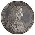 King Charles II, by John Roettier - NPG 6076