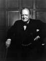 Winston Churchill, by Yousuf Karsh - NPG P243