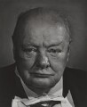 Winston Churchill, by Yousuf Karsh - NPG P244