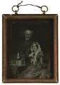 Derwent Coleridge; Mary Coleridge (née Pridham), by Unknown photographer - NPG P322