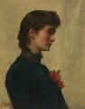 Marian Collier (née Huxley), by John Collier - NPG 6032