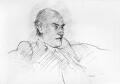 Francis Harry Compton Crick, by Howard James Morgan - NPG 5374
