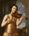 Jelly D'Aranyi, by Charles Geoffroy-Dechaume - NPG 5735