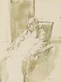 Walter de la Mare, by John Stanton Ward - NPG 5483