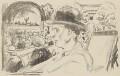 Frederick Delius, by Edvard Munch - NPG 5415