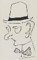 Lord Alfred Bruce Douglas, by Henri Gaudier-Brzeska - NPG 6013