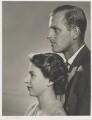 Queen Elizabeth II; Prince Philip, Duke of Edinburgh, by Yousuf Karsh - NPG P343