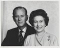 Prince Philip, Duke of Edinburgh; Queen Elizabeth II, by Yousuf Karsh - NPG P345