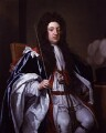 Sidney Godolphin, 1st Earl of Godolphin, by Sir Godfrey Kneller, Bt - NPG 5719