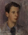Sir Lawrence Gowing, by Rodrigo Moynihan - NPG 5542