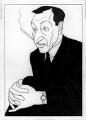 Sir Barry Vincent Jackson, by Powys Evans - NPG 6014