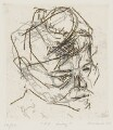R.B. Kitaj, by Frank Auerbach - NPG 6558