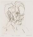 Leon Kossoff, by Frank Auerbach - NPG 6553