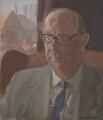 Philip Larkin, by Humphrey Ocean (Humphrey Anthony Erdeswick Butler-Bowdon) - NPG 5746