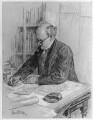 Sir Edwin Lutyens, by Sir (John) Bernard Partridge - NPG 5429