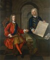 John Churchill, 1st Duke of Marlborough; John Armstrong, after Enoch Seeman - NPG 5318