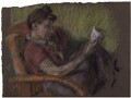 Mary Adela Martin (née Balmford), by Kenneth Martin - NPG 6011