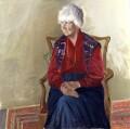 Naomi Mitchison, by Dame Elizabeth Violet Blackadder - NPG 6045