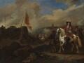 James Scott, Duke of Monmouth and Buccleuch, by Jan van Wyck - NPG 5376