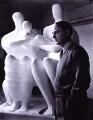 Henry Moore, by Yousuf Karsh - NPG P251