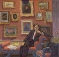Raymond Mortimer, by Edward Le Bas - NPG 6052