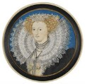 Mary Herbert, Countess of Pembroke, by Nicholas Hilliard - NPG 5994