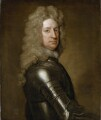 Charles Mordaunt, 3rd Earl of Peterborough, by Sir Godfrey Kneller, Bt - NPG 5867