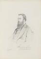 Mervyn Wingfield, 7th Viscount Powerscourt, by Frederick Sargent - NPG 5667